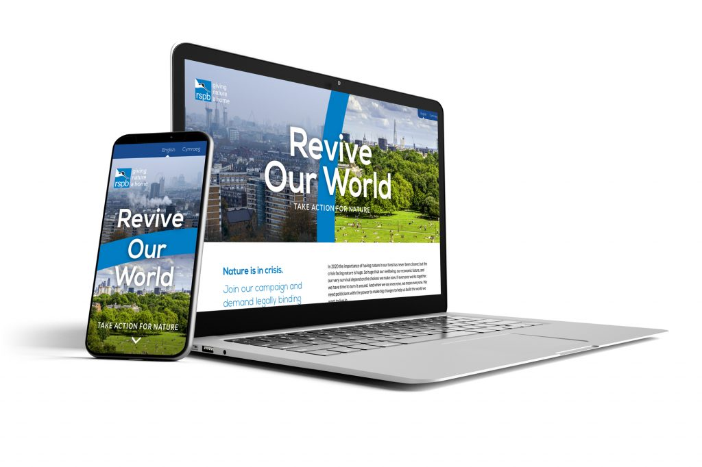 Revive Our World campaign by BoldLight