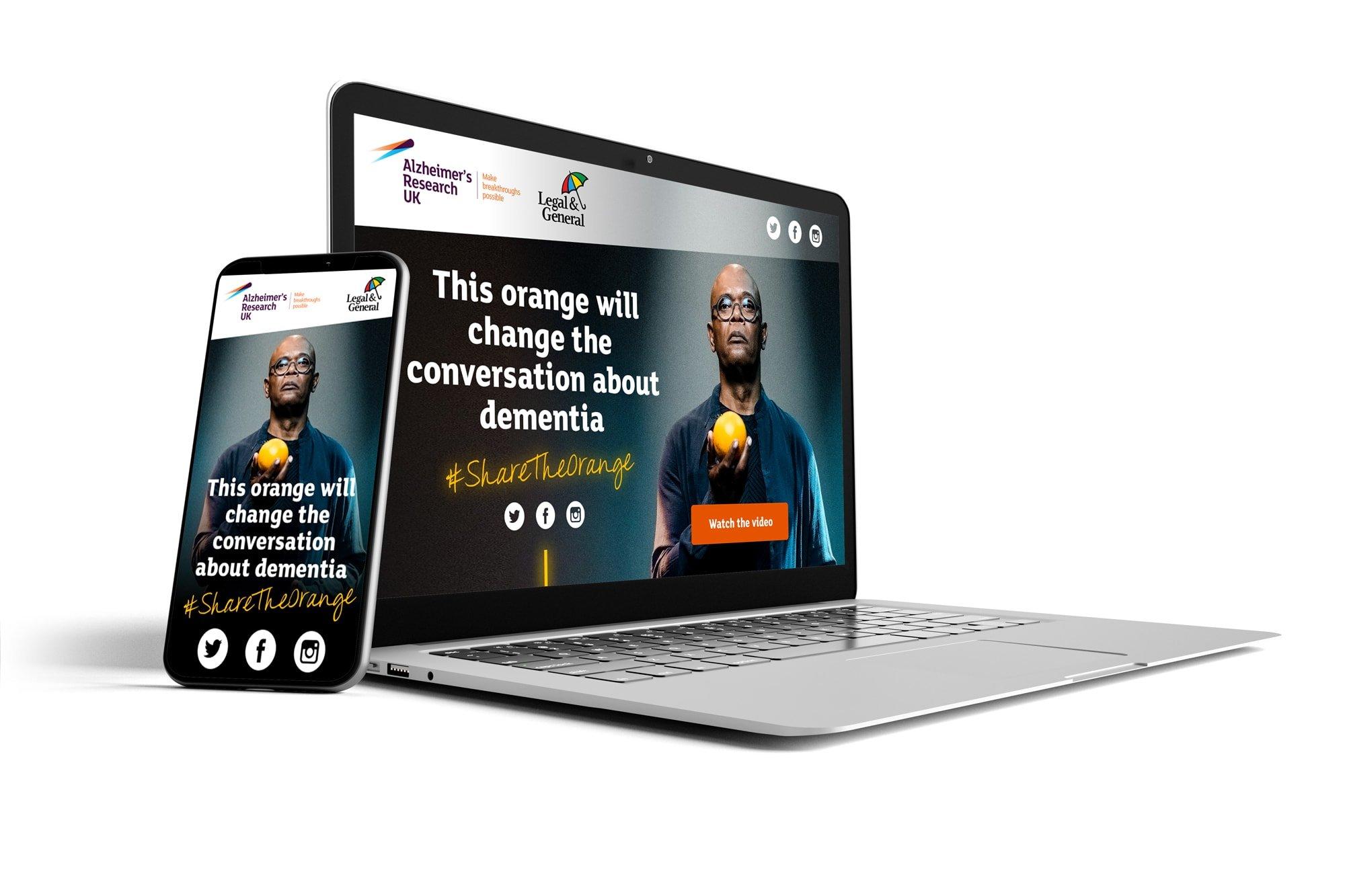 Alzheimer's Research UK - Share the Orange by BoldLight