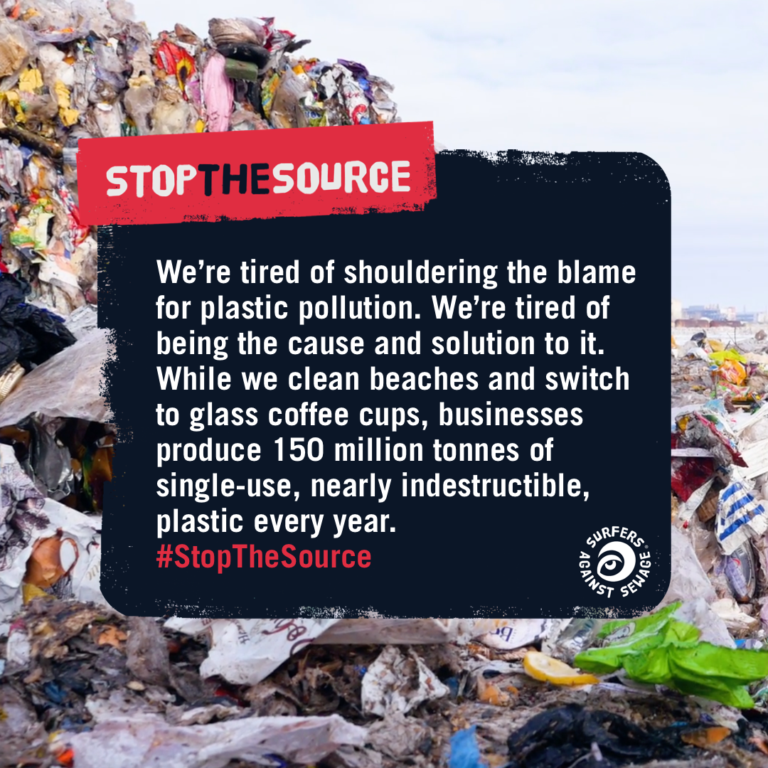 Stop The Source social media post by BoldLight
